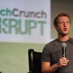 "Mark Zuckerberg speaks at TechCrunch's ""Disrupt"" Conference"