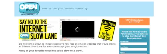 OpenMedia's FCC Comment Portal
