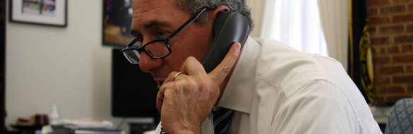 US Trade Representative Michael Froman speaks with the National Small Business Administration on the benefits of trade to small and medium-sized businesses. May 13, 2014.