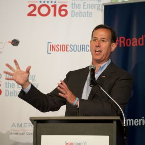 Santorum Calls for Increased U.S. Energy Production and Exporting to Boost Manufacturing