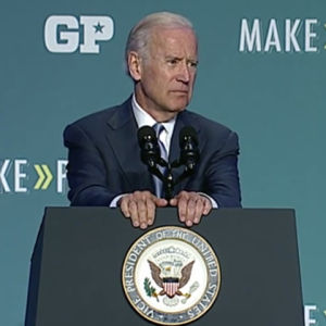 Joe Biden Says Democratic Primaries Shouldn't 'Rest on Millionaires and Billionaires'