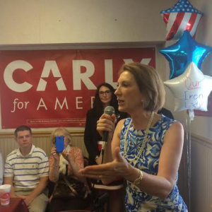 Fiorina Goes From Underdog to Taking on Trump
