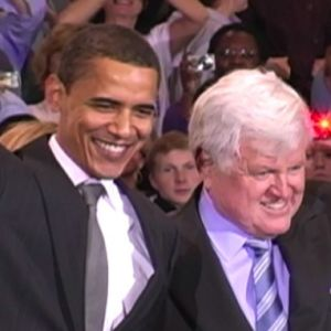 At American University, Obama's History Increasingly Interweaves With the Kennedys'