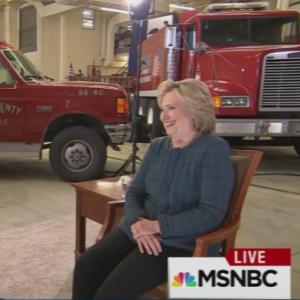 Once a Clinton Critic, Chris Matthews Tosses Hillary Softballs on 'Hardball'