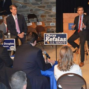Maryland Republican Senate Hopefuls Make Opening Pitches in First Debate