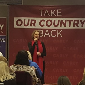 Exclusive Video: Fiorina Makes Closing Pitch to New Hampshire Voters