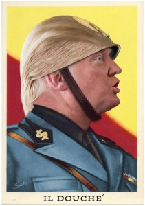 Sabo's Trump poster.