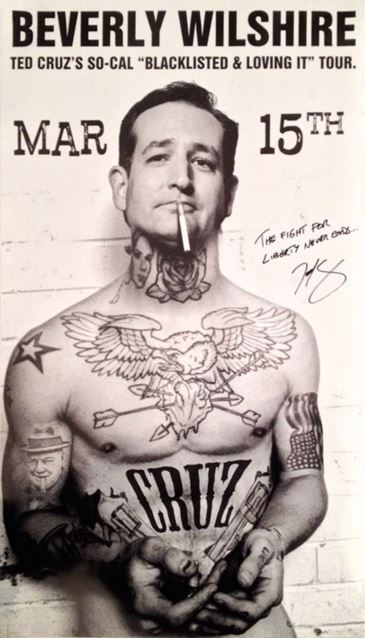 cruz campaign dumps controversial poster artist insidesources