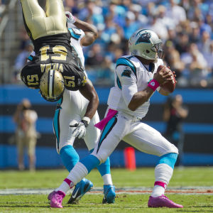 For NFL Super Bowl Quarterback Cam Newton, When Too Much Is Simply Too Much