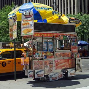 Hot Dogs, Salads, and Rent Seeking