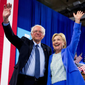 Did We Miss a 'Groundbreaking' Quote at Clinton's Sanders Rally?