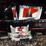Senate Majority Leader Mitch McConnell speaks at the Republican National Convention.