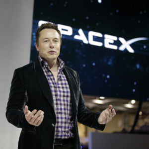 The Space Tesla?