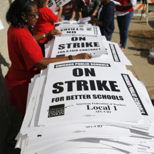 Teacher Strikes, Charter Schools and Unions