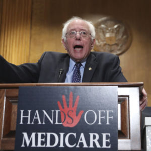 Bernie Sanders: Republicans Need to Guarantee They Won't Cut Entitlements