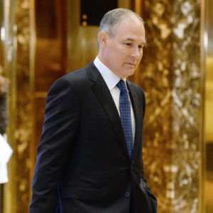 After Protesting Scott Pruitt, Environmentalists Shocked by EPA Security Increase