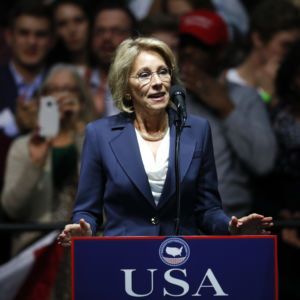 Teachers Unions Denounce DeVos Confirmation
