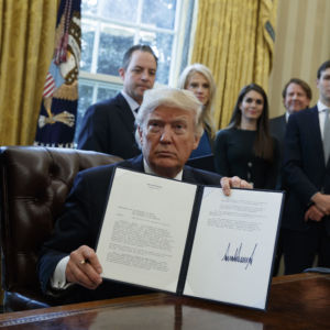 As Standing Rock Tribe Calls for Protesters to Leave, Trump Signs Order for DAPL Construction to Proceed