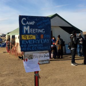 At Protest Camp, Standing Rock Tribe Addresses Poaching, Potential Flooding