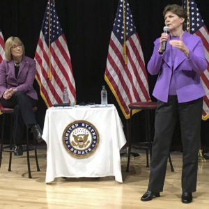 Hassan, Shaheen's Town Hall Reveals Middle-of-Road Approach to Trump