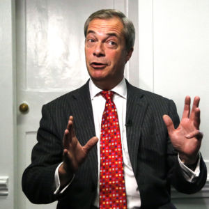 Brexit Leader Nigel Farage and the Rebirth of National Sovereignty