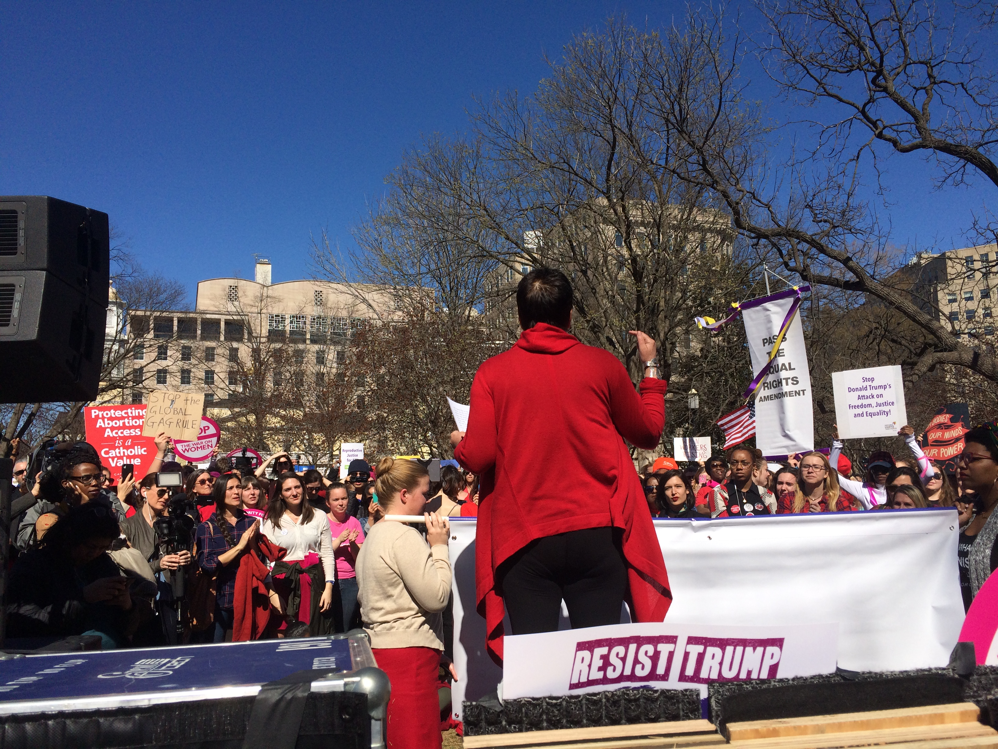 A Day Without a Woman protest (Connor D. Wolf/InsideSources)
