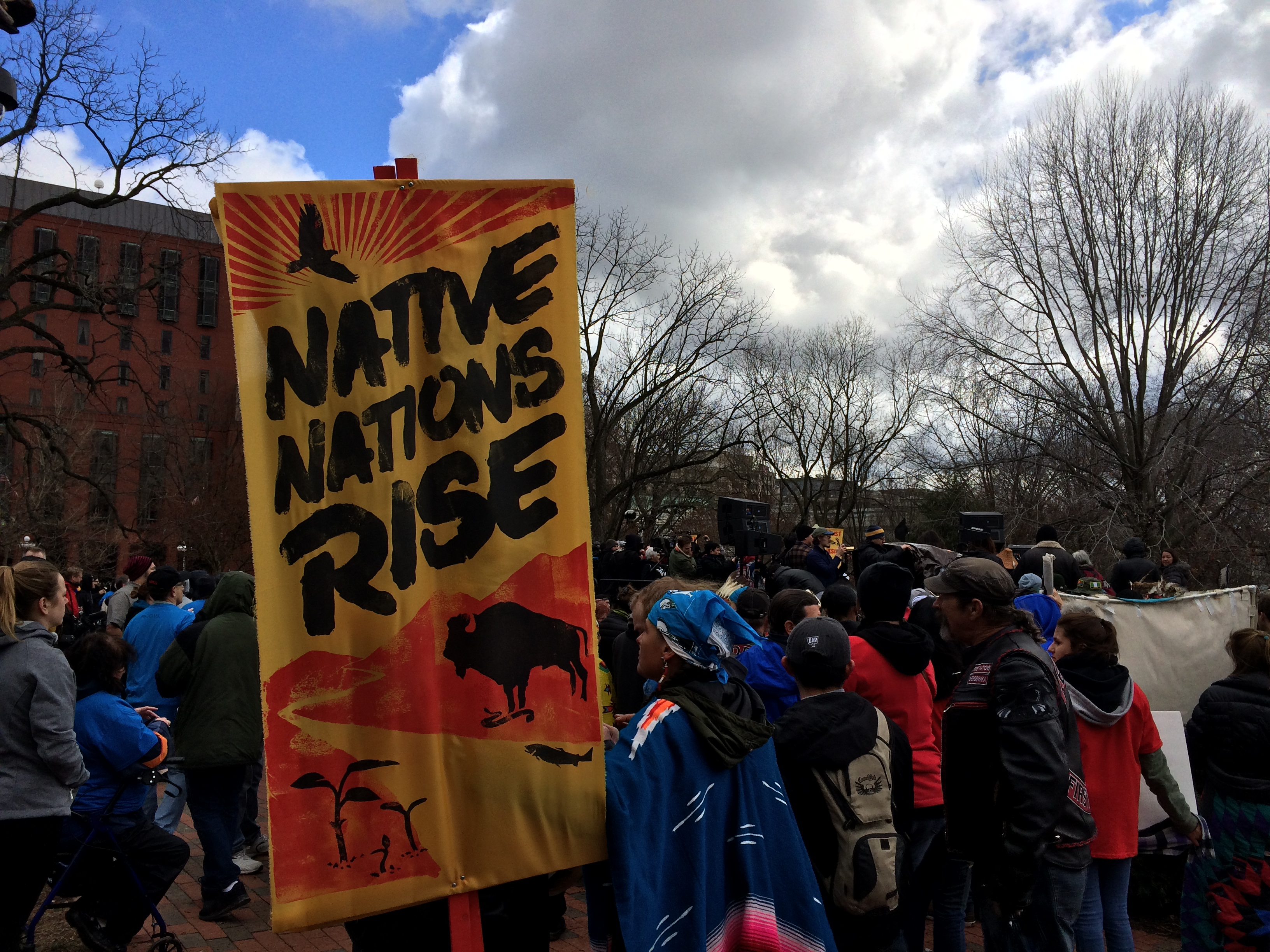 Washington D.C. pipeline protests (Connor D. Wolf/InsideSources)