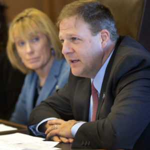 Poll: Sununu Ranks As Popular Governor, Hassan Struggles With Approval Ratings