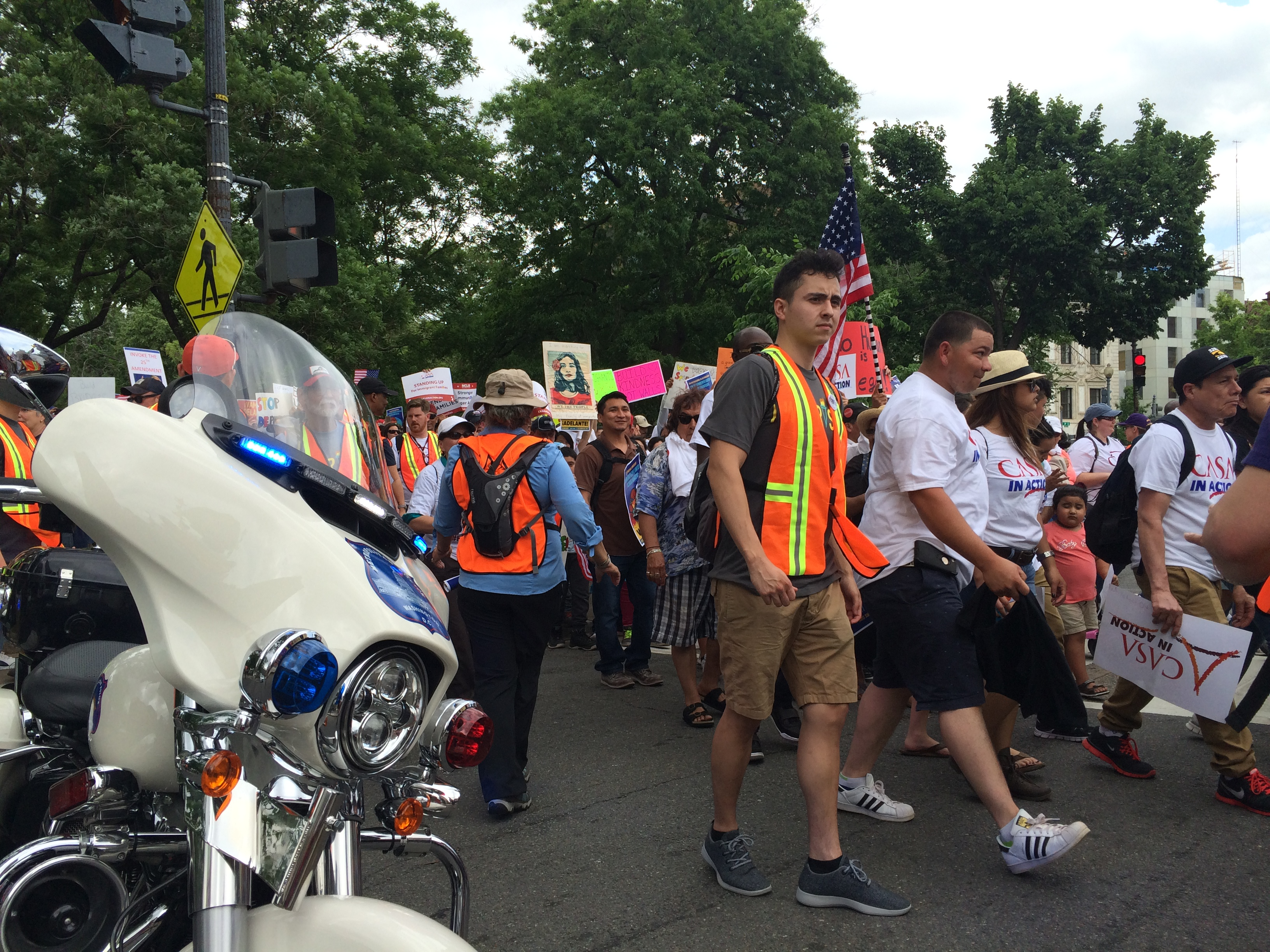 May Day Immigration Protest (Connor D. Wolf/InsideSources)