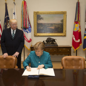 Angela Merkel Makes A Deal For US Natural Gas