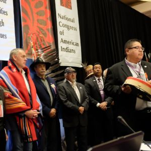 Zinke Addresses NCAI Conference, Stresses Tribal Sovereignty