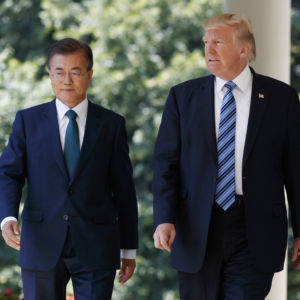 S. Korean Leader Ridiculed at Home for Closeness to U.S.