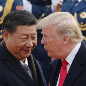U.S. Trade War Pushes China Closer to N. Korea
