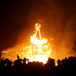 Does Burning Man Mean That a Post-Scarcity Society Would Be a Libertarian Utopia? Not Quite.