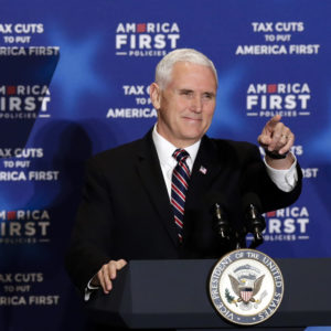Pence Hits the Campaign Trail in Iowa
