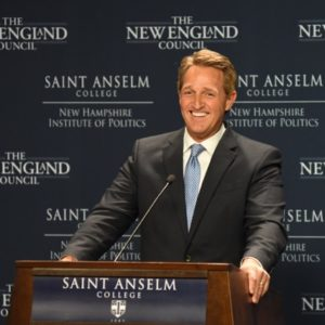 Sen. Flake Unlikely to Find Friends in New Hampshire GOP