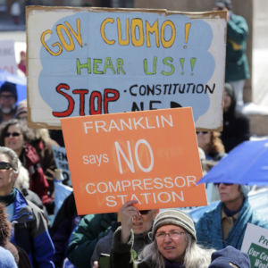 Stop the Constitution!: Facing Primary Challenge, Cuomo Reiterates Anti-Pipeline Stance