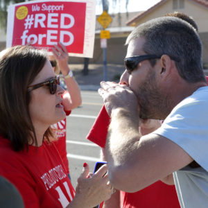 Arizona's Teachers Strike for Higher Pay, Increased Education Funding