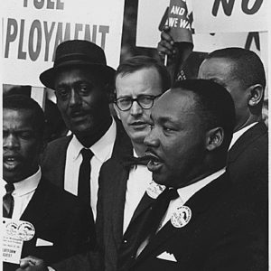 Labor Unions Walk in MLK's Footsteps
