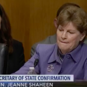 "Jeanne Shaheen Unhappy Over Accusations of ""Partisan"" Vote on Pompeo Nomination"