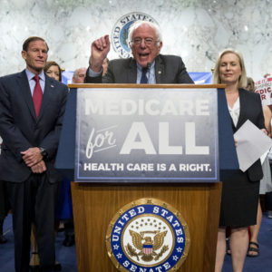 Fiscal Watchdog Finds Bernie's Healthcare Plan Could Blow $20 Trillion Hole in Federal Budget