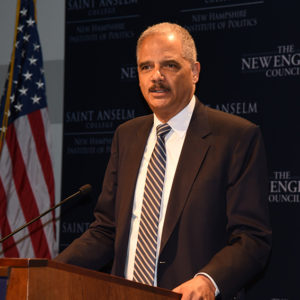 "Inside Sources 2020: Eric Holder ""Seriously Considering"" Presidential Bid"