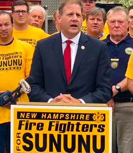 "Sununu Plays The ""Law And Order"" Card"