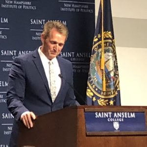 New Hampshire Republicans Ask: What Does Jeff Flake Want?