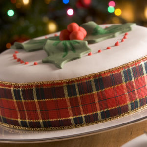 Christmas Is Coming — I Know Because There's a Cake!