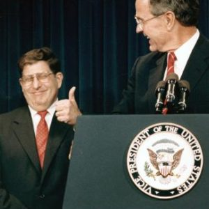 From Great National Leadership to Naughty Limericks: John H. Sununu Remembers George H. W. Bush