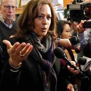 Kamala Harris Has Reputation for Asking, but Not Taking, Questions