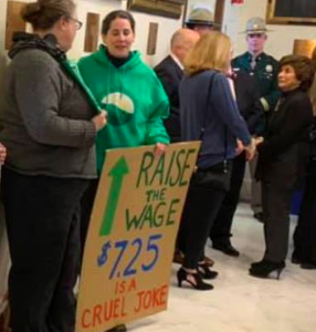 The Real Numbers on New Hampshire and the Minimum Wage