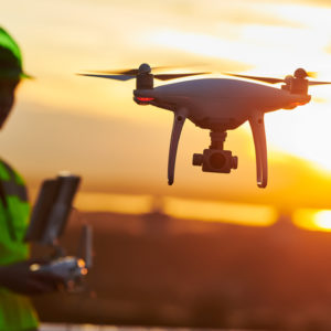 Look Up! The Age of the Delivery Drone Is Dawning