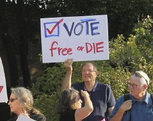 MA More Politically Engaged Than NH? Granite Staters Vote 'No!'